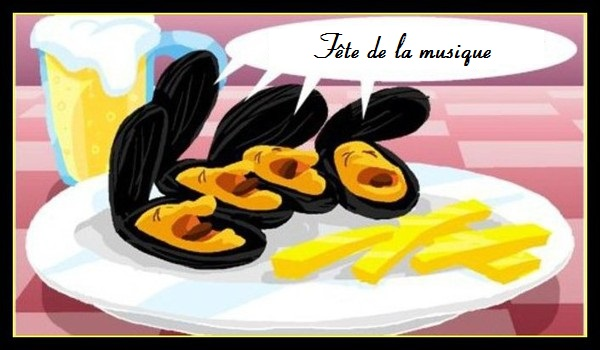 MOULES-FRITES ET ANIMATION MUSICALE