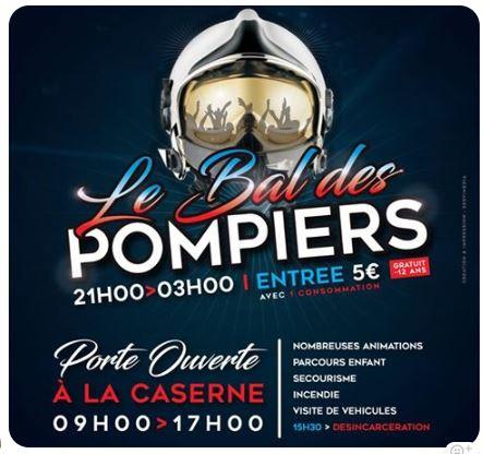 PORTE OUVERTE et BAL DES POMPIERS