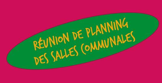 REUNION PLANNING DES SALLES