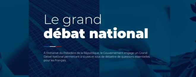 GRAND DEBAT NATIONAL