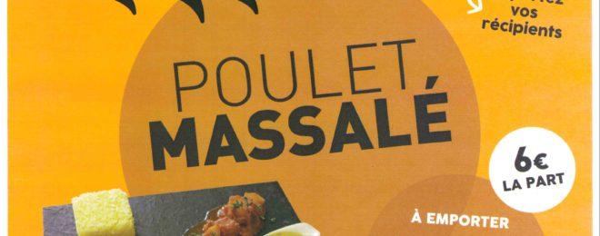POULET MASSALE